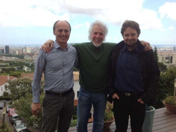 F. Fusi, Raúl y yo 26-5-13 (2)